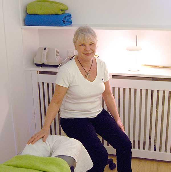 Anni Jensen, Professionel massage, idrætsskader, stressrelaterede og fysiske ømheder
