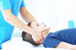 Helse og Idrætsklinikken i Lyngby, nakkesmerter, børn, Specialpædagogisk massage