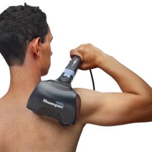 Thumper massage apparat